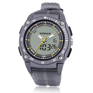 Image 2 - Часы наручные мужские с хронографом, Цифровые Кварцевые водонепроницаемые до 100 м