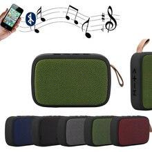 Orador portátil bluetooth alto-falante ao ar livre mini coluna estéreo música surround 24 horas bateria 66ft apoio tf cartão fm falar