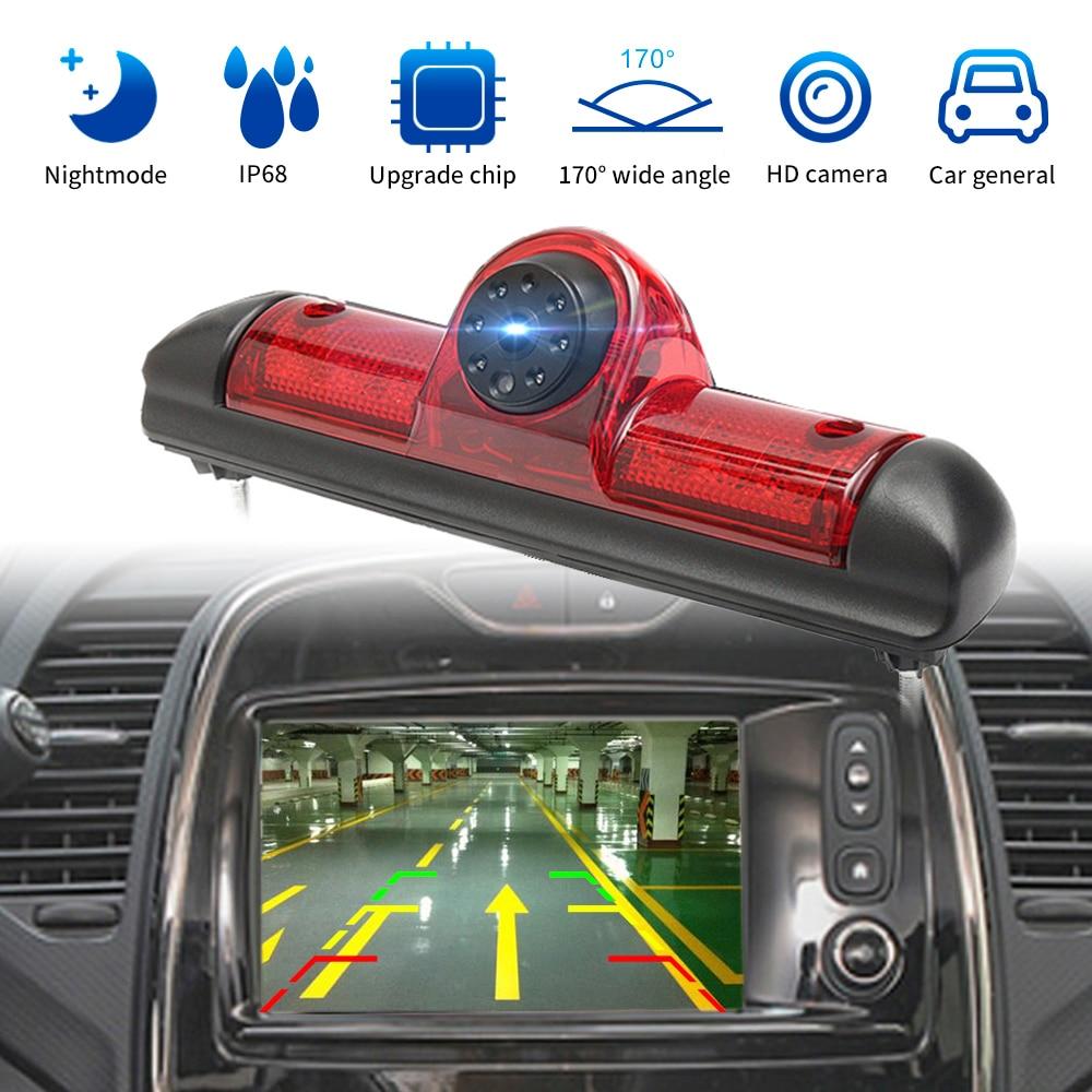 Автомобильный 3-й стоп светильник камера заднего вида Водонепроницаемая камера заднего вида ночного видения для Fiat Ducato/Peugeot Boxer/Citroen Jumper