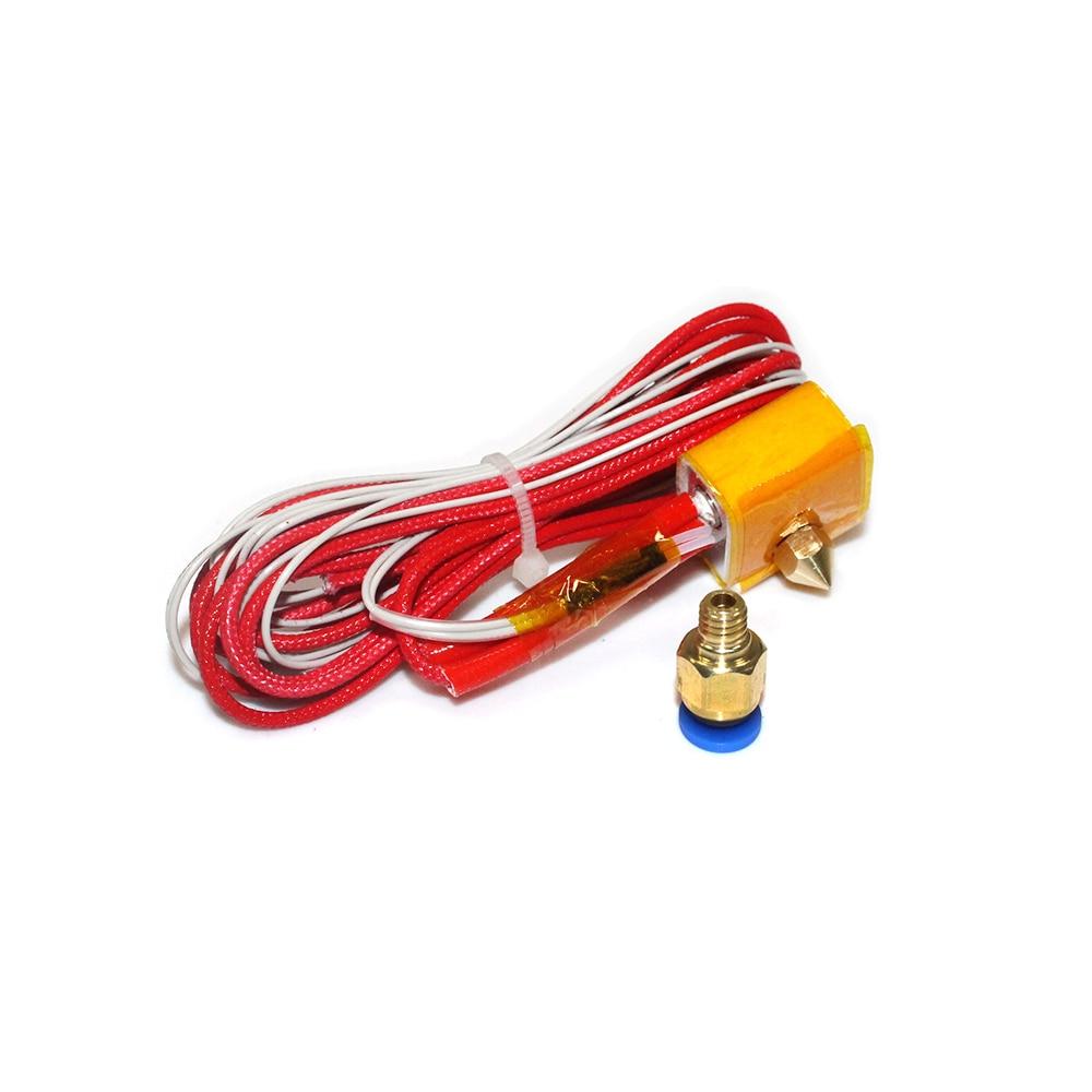 Image 5 - MK8 Extruder Head J head Hotend 0.4mm Nozzle Kit 1.75mm Filament Extrusion Nema17 stepper motor Throat Aluminum PartStepper Motor   -