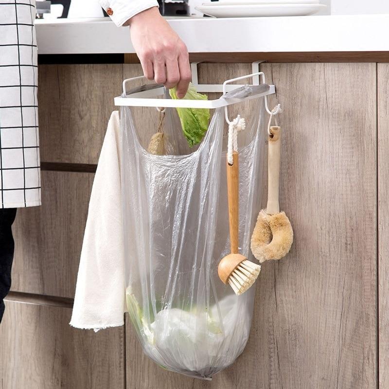 Armoire Garbage Support 26*15.3*7.7cm Fer Placard Cuisine Sac Rangement