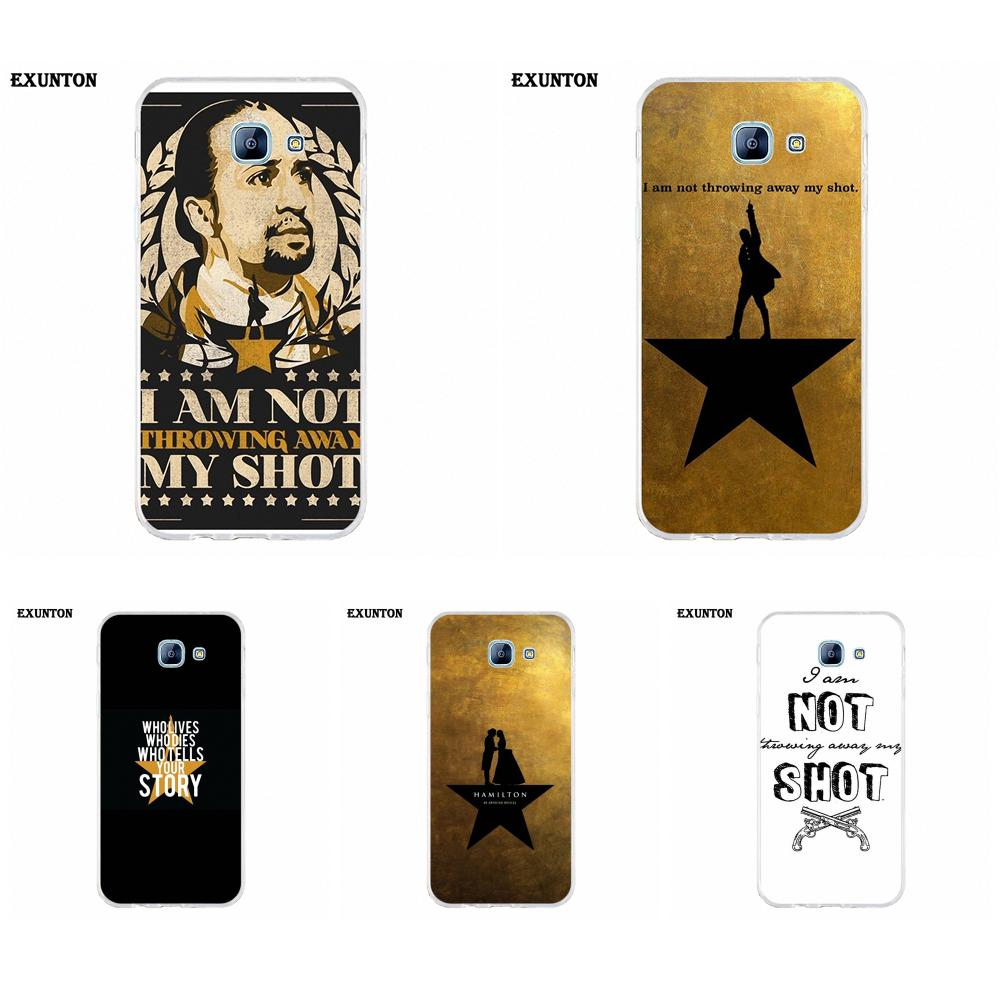I Am Not Throwing Away My Shot Hamilton Quotes For Xiaomi Note 3 4 Mi3 Mi4 Mi4C Mi4i Mi5 Mi 5S 5X 6 6X A1 Max Mix 2 image