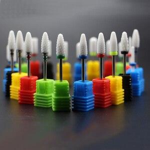 Image 2 - Hoàn Chỉnh Nhất 27 Kiểu Gốm Sứ Móng Mũi Cho Máy Khoan Điện Máy Làm Móng Tay Phụ Kiện Cắt Cối Xay Bằng Sứ Móng Tập Tin Dụng Cụ
