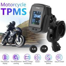 Monitoring-System Motorbike External-Sensors Tire Tyre-Pressure Waterproof USB with 2