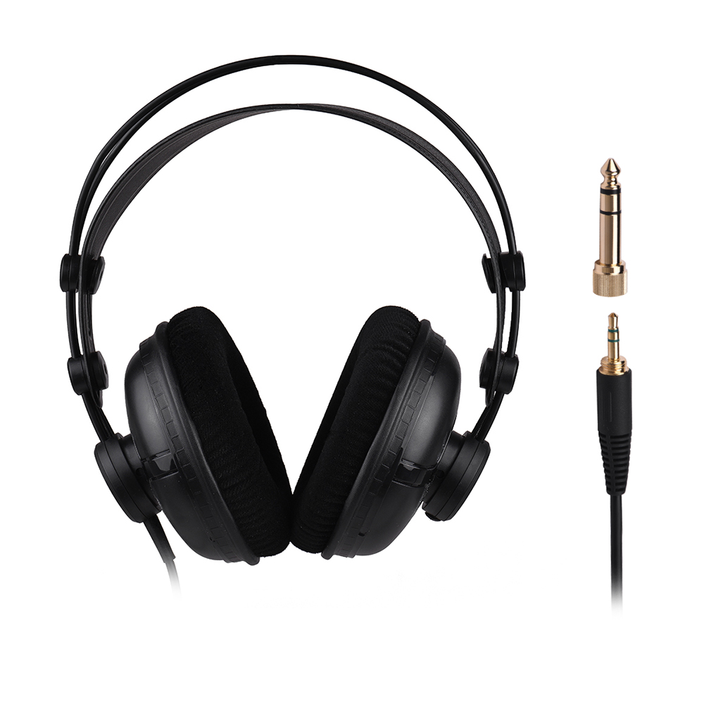 SAMSON SR950 Professional Studio Reference Monitor Headphone Dynamic Headset Closed Ear Design For Recording Monitoring Game DJ