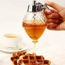 Presser bouteille miel Pot conteneur abeille goutte à goutte distributeur bouilloire stockage Pot support jus sirop tasse décoration de la maison accessoire