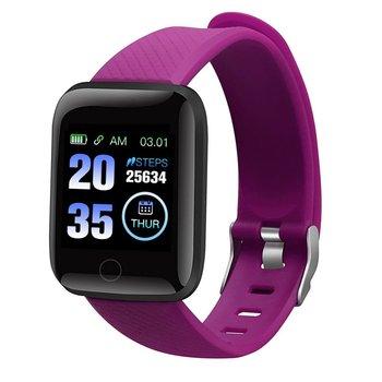 Smart Bracelet Blood Pressure Measurement Waterproof Sleep Monitoring Watch Heart Rate Monitor Pedometer Smart Band Women Men