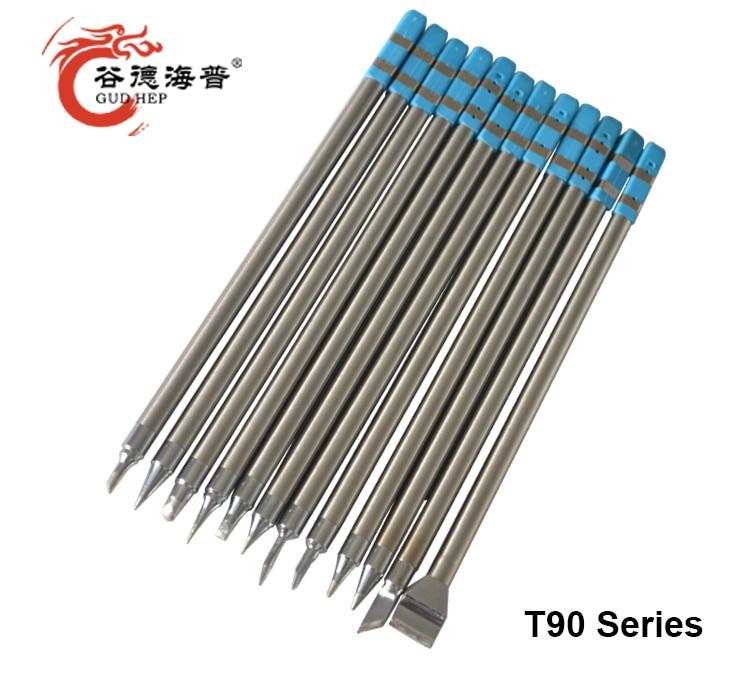 Gudhep Soldering Iron Tips  T90 Replacement Soldering Tips For GD90 Soldering Rework Station
