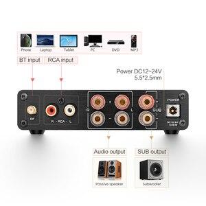 Image 4 - AIYIMA TPA3116 2.1 チャンネル 50 ワット × 2 + 100 ワット高電力の Bluetooth デジタルアンプサブウーファーハイファイ Amplificador オーディオアンプ
