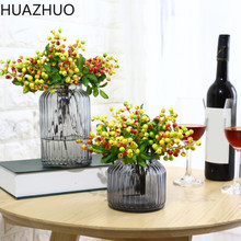 1 Piece Artificial Flowers Berry Latex Real Touch Fruits Wedding Decoration Simulation Flowers Xmas Home Garden Artificial Plant(China)