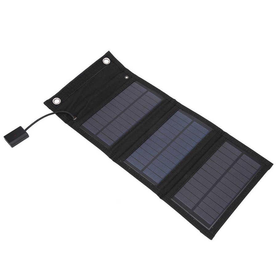 Pacote de 15W Portátil Painel Solar Dobrável