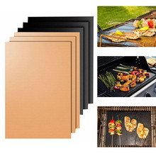 Bbq Mat Kebab Maker Barbecue Accessories Weber Grill Smoke Generators Bbq Tools Beach Non-stick Barbecue Baking(China)