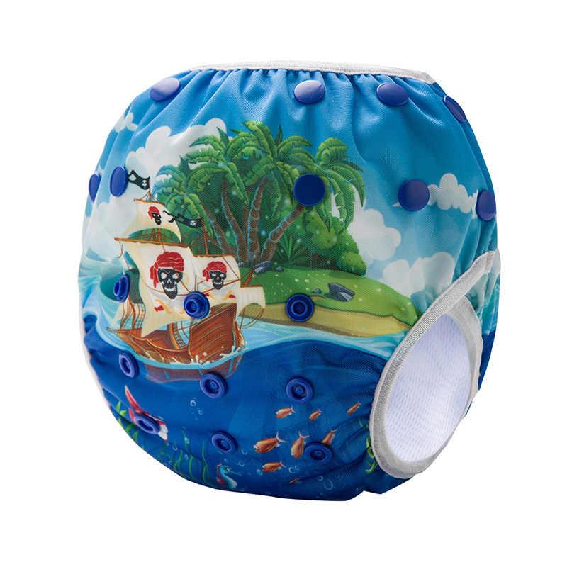 환경 친화적 인 아기 수영 기저귀 조절 재사용 가능한 기계 DY 인쇄 아기 수영 기저귀 SM-DY1