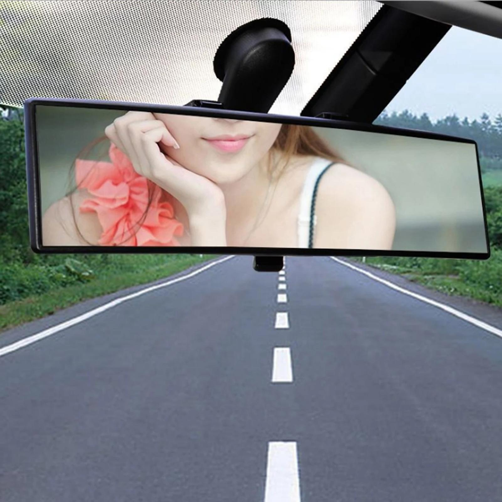 Universal Car Curved Surface Rearview Mirror with Clip Auto Safety Accessories for SUVs, for CRVs, vans