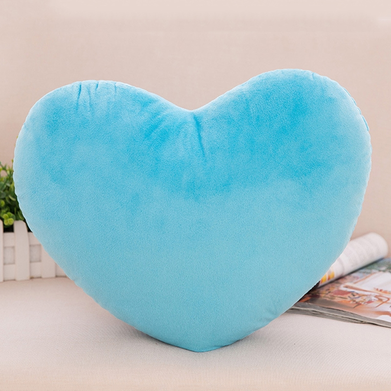 30cm Heart Shape Decorative Throw Pillow PP Cotton Soft Creative Doll Lover Gift