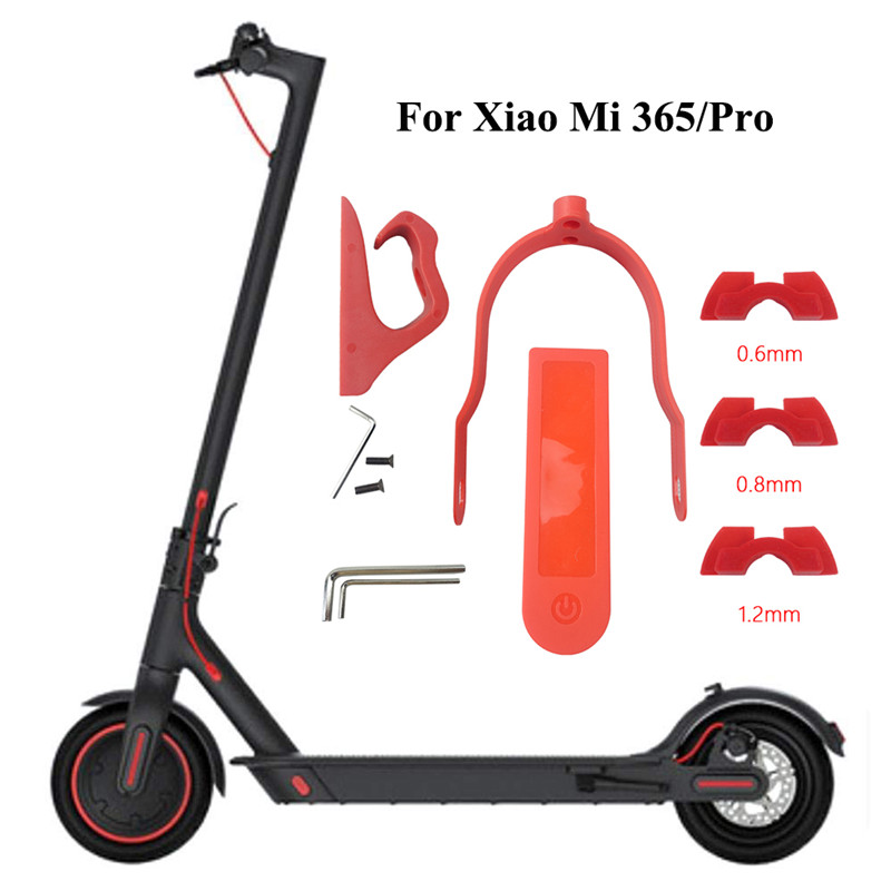 Electric Scooter Hook Support Gasket Silicone Case Damping Bracket Part Clasped Replacement Part for <font><b>Xiaomi</b></font> <font><b>Mijia</b></font> <font><b>M365</b></font>/<font><b>Pro</b></font> image