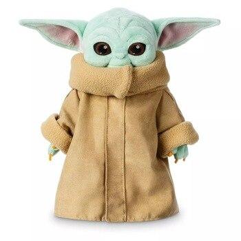 30cm Star Wars Plush Baby Yoda Master Yoda Force Toy Awakens Children Plush Star Wars9 Toy Peluche Cute Kid Stuffed Toy For Kids цена 2017