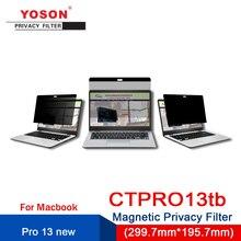 Computer Anti-Peep-Screen/peep-Protection Magnetic YOSON 13 Fil