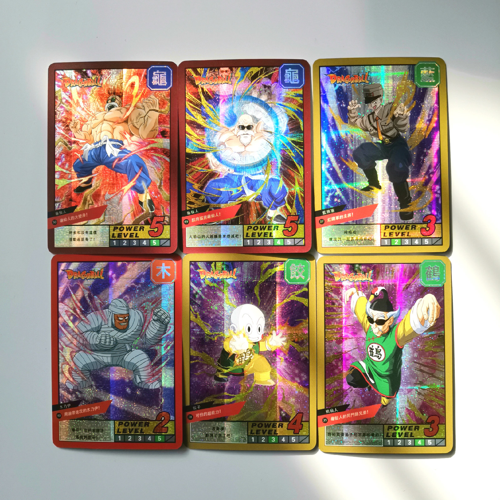 19pcs Super Dragon Ball Z Burst Six Heroes Battle Card Ultra Instinct Goku Vegeta Game Collection Cards