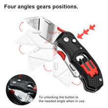 цена на Folding Knife Electrician Utility Knife Multifunctional Tools Cuchillo Cable Cutter Knives EDC Multi Tool With 5PC Blades