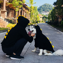 Одежда для больших собак зимняя Большая одежда для собак забавная одежда для домашних животных Толстовка с капюшоном кошка щенок Пудель корги золотой ретривер Хаски самоед пальто для домашних животных