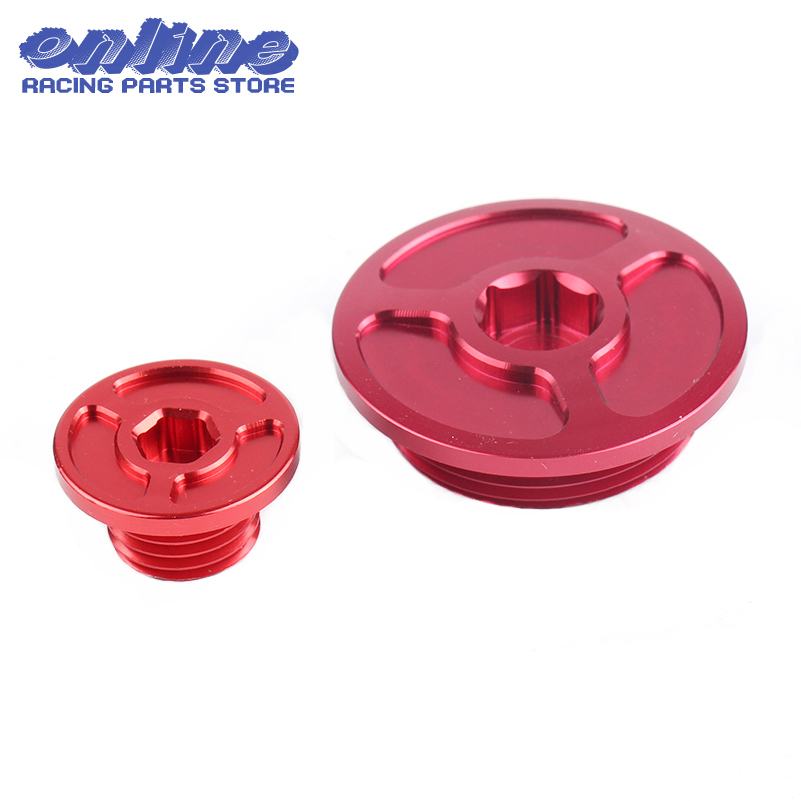 Motorcycle accessories motocross CNC <font><b>Engine</b></font> Timing Plug for <font><b>honda</b></font> crf150r crf250r crf450r crf450x crf 250r dirt bike offroad image