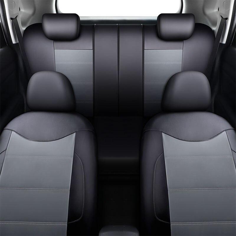 Housse de siège de voiture en cuir Pu Supports de siège de véhicule pour Mitsubishi Asx 2017 Carisma Eclipse Cross Galant L200 Lancer 9 10 Ex Ix X - 2
