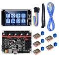 BIGTREETECH SKR V1.3 32 бит 3d принтер плата контроллера с TFT35 V2.0 сенсорный экран TMC2209 TMC2208 UART шаговый двигатель привод