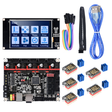 BIGTREETECH SKR V1.3 32 Bit 3D yazıcı denetleyici kurulu ile TFT35 V2.0 dokunmatik ekran TMC2209 TMC2208 UART step Motor sürücü
