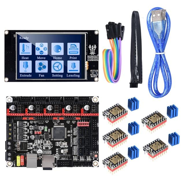 BIGTREETECH クローナ V1.3 32 ビット 3D プリンタコントローラボードと TFT35 V2.0 タッチスクリーン TMC2209 TMC2208 UART ステッピングモータ駆動
