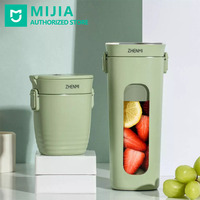 Xiaomi Zhenmi Food Processor Portable Juicer Cup 300ml Wireless Vacuum Machine 30KPa Rechargeable for Fitness Body Building