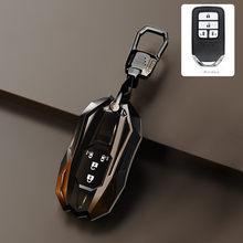 Chave do carro inteligente fob caso capa para honda stepwgn odyssey liberada elysion mpv 4/5 botão titular tpu acessórios titular escudo