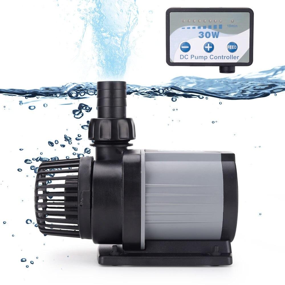 Jebao Pompa DCS 1200 12000 L/H Serie Acquario Fish Tank Sommergibile Regolabile Controllabile Acqua del Flusso della Pompa fontana|Water Pumps| - AliExpress