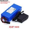 VariCore 14 8 V 10Ah 18650 li-iom батарейный блок для ночной рыбалки  подогреватель шахтерской лампы  усилитель батареи с BMS + 16 8 V зарядным устройством