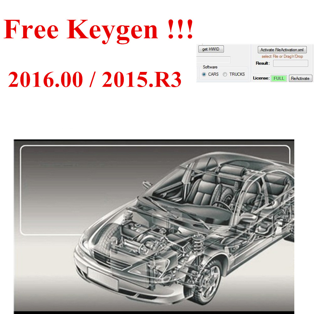 2019 Newest Vd Ds150e Cdp 2016.00 Software Keygen As Gift For Delphis Support 2016 Years Model Cars Trucks