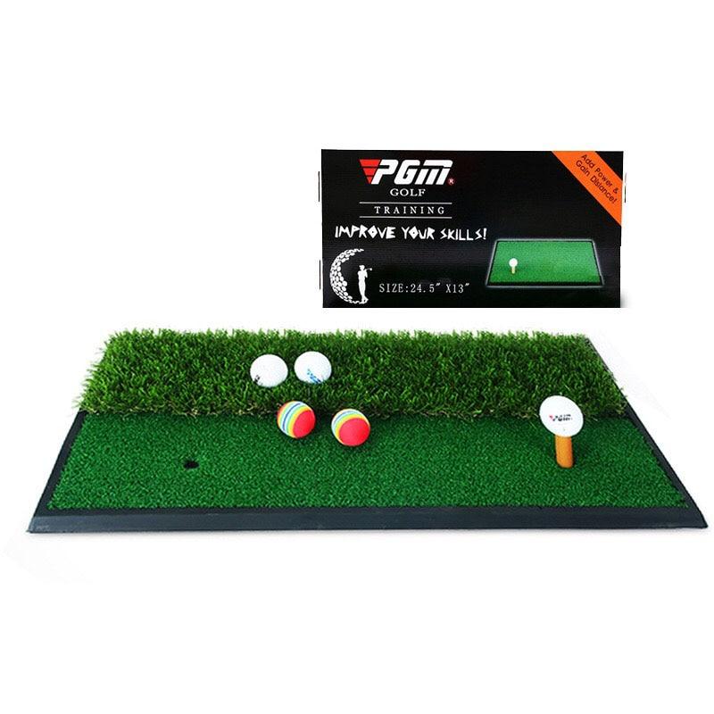 30*60cm golf double grass batting mat swing mat indoor practice mat golf batting mat