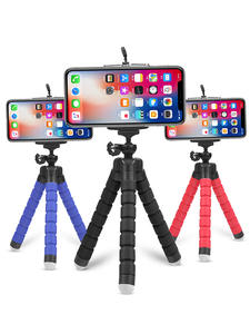 SHOOT Octopus-Tripod Camera Flexible Sponge Mobile-Phone Huawei Xiaomi Mini Gopro 8 Samsung