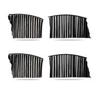 Novo 4 pçs retrátil janela do carro sun sombra cortina proteção uv viseira capa magnética
