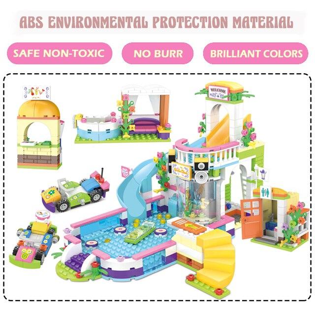 Mainan Blok Rumah Rumahan  4