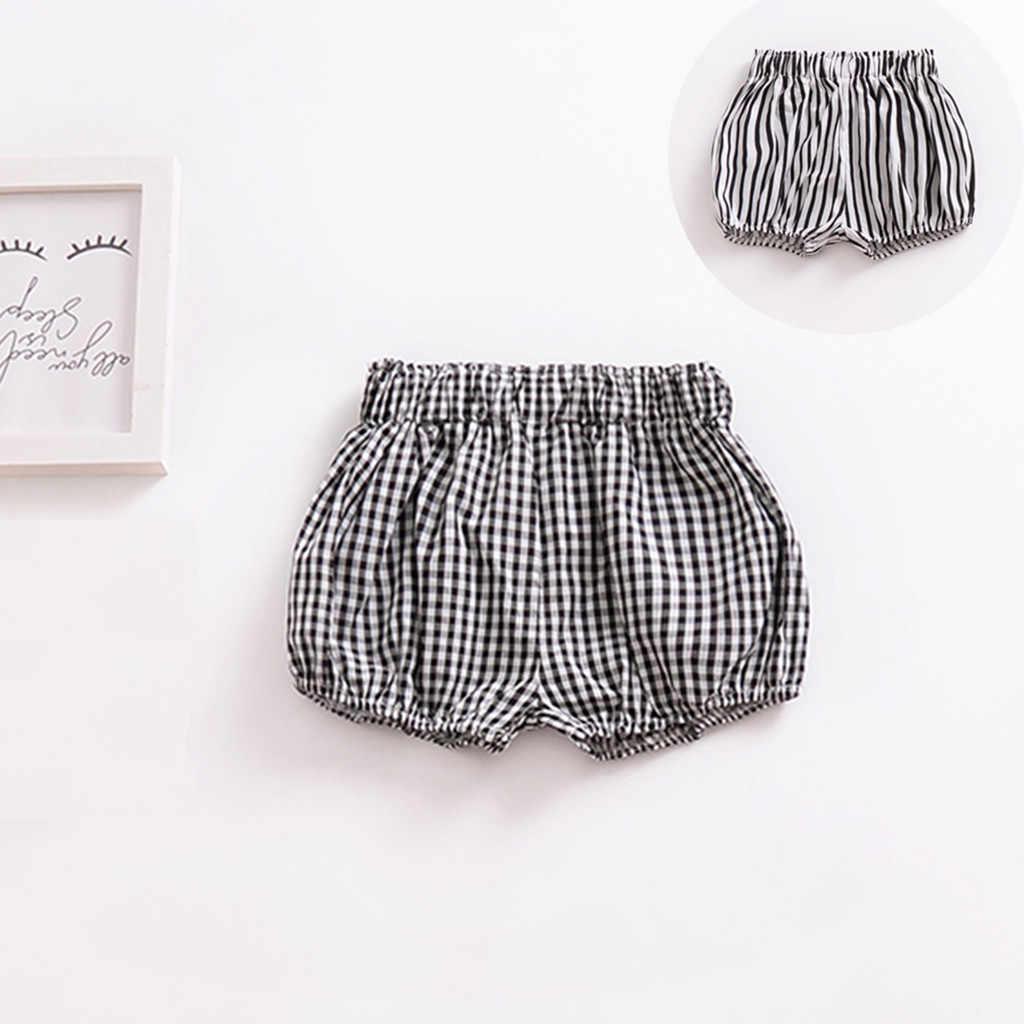 Newborn Baby Girls Boys Cotton Linen Blend Cute Bloomer Shorts Loose Harem Short
