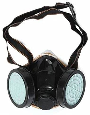Anti-Dust Masks Gas Spray Paint Dual Respirator Industrial Chemical Mask 2