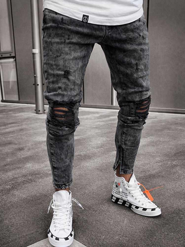 Praznina Drvo Cijepljenje Pantalon Jean Negro Roto Para Hombre Goldstandardsounds Com