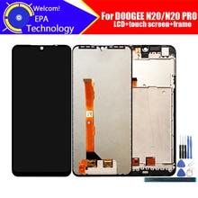 6.3 Inch Doogee N20 Lcd scherm + Touch Screen Digitizer Vergadering 100% Originele Lcd + Touch Digitizer Voor N20 Pro + Gereedschap