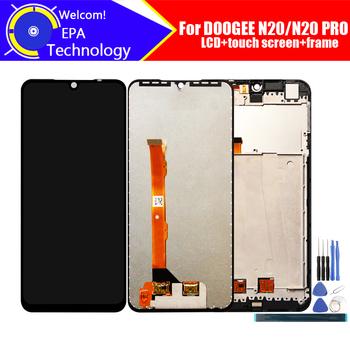 6 3 calowy wyświetlacz Doogee N20 LCD + montaż digitizera ekranu dotykowego 100 oryginalny LCD + dotykowy Digitizer dla N20 PRO + narzędzia tanie i dobre opinie iParto NONE CN (pochodzenie) Pojemnościowy ekran for Doogee N20 N20 PRO for Doogee N20 N20 PRO 2280x1080 HD 6 3 inch Original for Doogee N20 N20 PRO LCD Dispaly Touch Screen