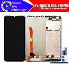 6,3 дюймовый ЖК-дисплей Doogee N20 + кодирующий преобразователь сенсорного экрана в сборе 100% Оригинальный ЖК-дисплей + сенсорный дигитайзер для N20 ...