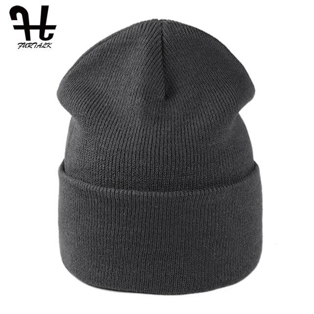 FURTALK-bonnet pour hommes et femmes | Bonnet dhiver, bonnets tricotés, bonnet de Ski, casquette à revers noir rouge, bonnet de printemps et dautomne pour enfants