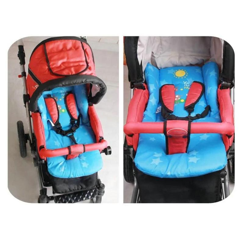Baby Kids Cart Seat Cushion Stroller Pad Child Pram Buggy Carriages Pushchair Stroller Mattress Mat Baby Stroller Accessories