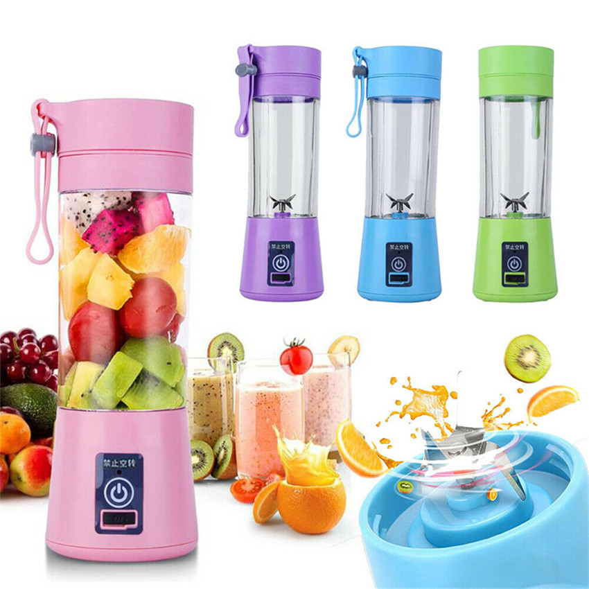 2 In1 BlendJet One The Ultimate Portable Fruit Vegetable Juicers Blender Cup