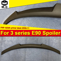 For BMW E90 Spoiler trunk wing tail AEM4 Style FRP Unpainted 3 series 318i 320i 328i 335d 330i 350 Tail trunk spoiler wing 05 11