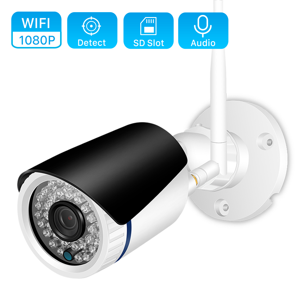ANBIUX Ip-Camera Ip-Icsee Security-Alarm Wifi CCTV 720P HD 1080P Wireless With 12V Power-Audio